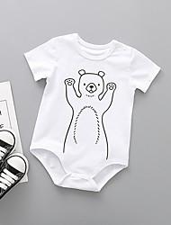 baratos -bebê Unisexo Estampado Manga Curta Maiô / Fofo