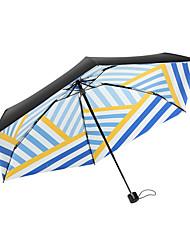 Недорогие -boy® Ткань / Others Все Новый дизайн / Солнечный и дождливой / Ветроустойчивый Складные зонты