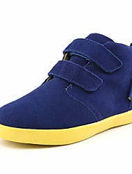 cheap -Boys' Shoes Cowhide Fall Comfort Sneakers Magic Tape for Black / Green / Blue