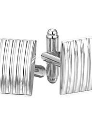 preiswerte -Rechteck Silber / Golden Manschettenknöpfe Kupfer Einfach / Modisch Herrn Modeschmuck Für Alltag