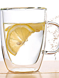 Недорогие -Drinkware стекло Стекло Теплоизолированные 1pcs