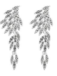 Недорогие -Жен. Серьги-слезки - Милая, Мода, Элегантный стиль Серебряный Назначение Свадьба / Для вечеринок