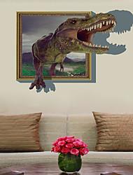 abordables -Autocollants muraux décoratifs / Autocollants de frigo - Autocollants avion / Autocollants muraux 3D Paysage / 3D Chambre à coucher /