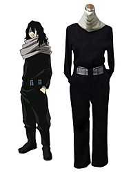 cheap -Inspired by My Hero Academy Battle For All / Boku no Hero Academia Cosplay Anime Cosplay Costumes Cosplay Suits Other Long Sleeve Top / Pants / Belt For Unisex Halloween Costumes