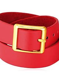 billiga -Krage - Läder Mode Svart, Röd 42 cm Halsband Smycken Till Dagligen