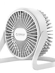 abordables -mini ventilateur ajustable usico de bureau orico ft1-2 - blanc