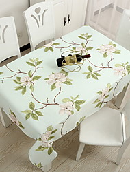 cheap -Contemporary Square Table Cloth Floral Table Decorations 1 pcs