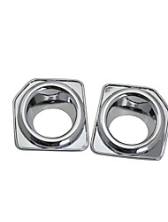 cheap -2pcs Car Car Light Covers Business Paste Type For Front fog lights For Land Rover Freelander 2 All years