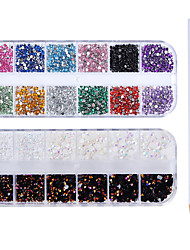 cheap -4 pcs Outfits Metallic Crystal Wedding / Party Evening / Dailywear Nail Art Design / Nail Art Drill Kit
