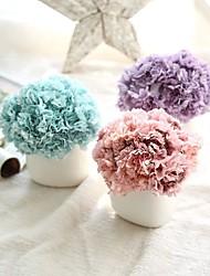 cheap -Artificial Flowers 6 Branch Rustic / Wedding Flowers Carnation / Eternal Flower Tabletop Flower