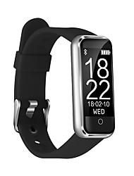 abordables -Pulsera inteligente CB-601+ para iOS / Android Monitor de Pulso Cardiaco / Medición de la Presión Sanguínea / Calorías Quemadas / Standby Largo / Pantalla Táctil Temporizador / Podómetro