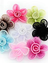 abordables -Accessoires pour cheveux Fil synthétique Perruques Accessoires Femme 8pcs pcs 2,5-10 cm cm Soirée / Quotidien Elégant Mignon