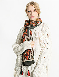 cheap -Women's Vintage / Holiday Rectangle - Striped Tassel