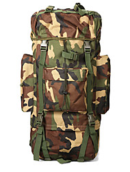 cheap -65 L Hiking Backpack - Quick Dry, Wearable Outdoor Hiking, Camping Nylon Camouflage