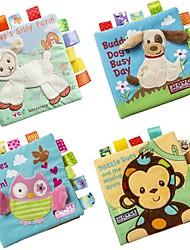 Недорогие -Игрушка для обучения чтению Животные 3D Читая книгу дошкольный Мальчики Девочки Игрушки Подарок 1 pcs