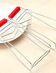 Недорогие -Кухонные принадлежности Нержавеющая сталь + пластик Новое поступление Ложка Рест и горшки Многофункциональный / Для приготовления пищи Посуда 1шт