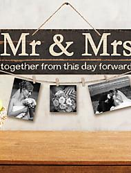 economico -di legno 1 x sacca Decorazioni Cerimonia - Matrimonio Matrimonio