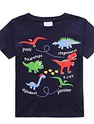 economico -Bambino (1-4 anni) Da ragazzo Con stampe Manica corta T-shirt