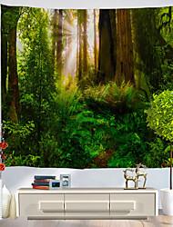 abordables -Nouveauté / Vacances Décoration murale Polyester Classique / Rétro Art mural, Tapisseries murales Décoration