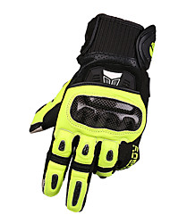 preiswerte -MOTOBOY Vollfinger Unisex Motorrad-Handschuhe Kohlefaser / Schwamm / Poly Urethan Atmungsaktiv / Wasserdicht / Stoßfest