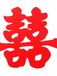 Недорогие -Оконная пленка и наклейки Украшение Шинуазери (китайский стиль) Простой ПВХ Стикер на окна / Стикер на двери