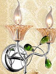 baratos -Novo Design LED Luminárias de parede Quarto / Escritório Metal Luz de parede 220-240V 20 W / E14