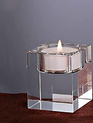cheap -Modern / Contemporary Glasses Candle Holders Candelabra 1pc, Candle / Candle Holder