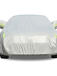 cheap -Full Coverage Car Covers PEVA / Cotton / Aluminum Film Reflective / Warning bar For BMW 1 Series All years For All Seasons