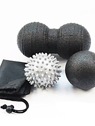 economico -Set di palline per massaggi Con 3 pcs 7,5 cm / 8 cm Diametro EPP Dolore Facilita, Massaggio Per Yoga / Esercizi di fitness / Rilassamento