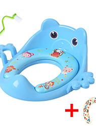 Недорогие -Сиденье для унитаза Новый дизайн / Для детей / с щетка для очистки Обычные / Modern PP / ABS + PC 1шт Украшение ванной комнаты