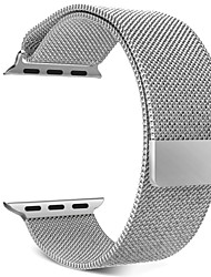 economico -Cinturino per orologio  per Apple Watch Series 4/3/2/1 Apple Cinturino sportivo / Cinturino a maglia milanese Metallo Custodia con cinturino a strappo