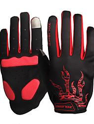 abordables -ZOLI Doigt complet / Demi-doigt Unisexe Gants de moto Tissu Séchage rapide / Respirable / Antiusure