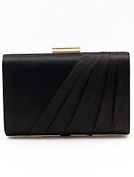 cheap -Women's Bags Satin Evening Bag Sashes / Ribbons Black / Blushing Pink / Purple