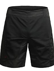 Недорогие -Jaggad Жен. Велошорты с подкладкой Велоспорт Шорты / Мешковатые шорты / Шорты для горного велосипеда 3D-панель, Дышащий Однотонный, Клетки Полиэстер Черный Одежда для велоспорта