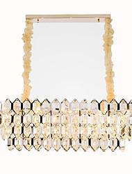 Недорогие -QIHengZhaoMing Кристаллы Люстры и лампы Рассеянное освещение 110-120Вольт / 220-240Вольт, Теплый белый, Лампочки включены / 15-20㎡