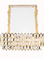 cheap -QIHengZhaoMing Crystal Chandelier Ambient Light 110-120V / 220-240V, Warm White, Bulb Included / 15-20㎡