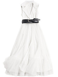abordables -Femme Sortie Mince Gaine Robe Maxi