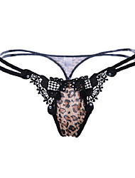 preiswerte -Damen Leopard - G-Strings & Tangas Niedrige Taillenlinie