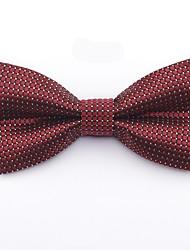 cheap -Men's Basic Cotton / Polyester Bow Tie - Polka Dot / Geometric Bow / Criss-Cross / All Seasons