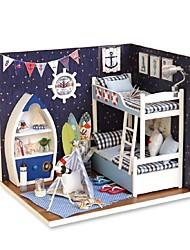 Недорогие -Кукольный домик Творчество утонченный мини Куски Детские Девочки Игрушки Подарок