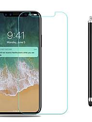 Недорогие -AppleScreen ProtectoriPhone X HD Защитная пленка для экрана 1 ед. Закаленное стекло