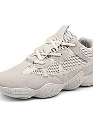 economico -Per uomo Scarpe Retato / Sintetico Estate Comoda Sneakers Nero / Beige / Grigio