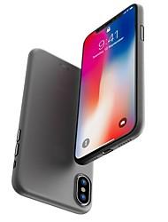 Недорогие -Кейс для Назначение Apple iPhone X / iPhone 8 Матовое Кейс на заднюю панель Однотонный Твердый ПК для iPhone X / iPhone 8 Pluss / iPhone 8