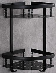 economico -Mensola del bagno / Porta spazzolini / Sapone Piatti e Supporti Nuovo design / Multistrato / Creativo Modern Alluminio 1pc Matrimoniale