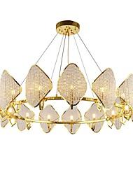 cheap -QIHengZhaoMing Crystal Chandelier Ambient Light 110-120V / 220-240V, Warm White, Bulb Included / G9 / 15-20㎡