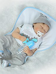 cheap -NPKCOLLECTION Reborn Doll Baby Boy 24 inch Silicone Kid's Boys' Gift