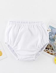 baratos -bebê Para Meninos Moda de Rua Sólido / Arco-Íris Algodão Roupa Íntima & Meias / Bébé