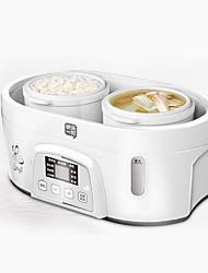 abordables -Olla arrocera Nuevo diseño / Múltiples Funciones Acero inoxidable / ABS + PC Ollas Arroceras 220-240 V 200 W Aparato de cocina