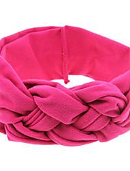 abordables -Bandas de cabeza / Color Ciruela Accesorios para el cabello Tela Demin Accesorios pelucas Mujer 1pcs PC 20 cm cm Ropa Cotidiana Elegante / Detalle Decorativo Bonito / Lazo
