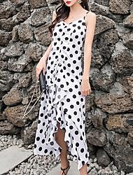 povoljno -ženska plaža tanka plašt haljina midi remen